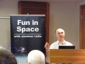 AMSAT-UK Chairman Professor Sir Martin Sweeting G3YJO