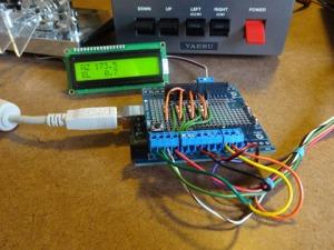 Arduino SimpleSat Rotor Controller   AMSAT-UK