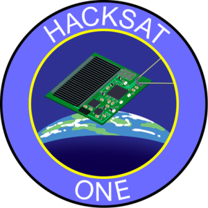 Hacksat One mission decal created by Nick Cramp