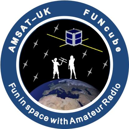 AMSAT-UK FUNcube Mission Patch Rev4 20100609