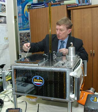 Sergey Samburov RV3DR with ARISSat-1