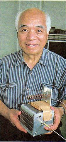 Takushi Tanaka JA6AVG and FITSAT