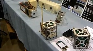 PhoneSat Stand at 2012 Bay Area Maker Faire