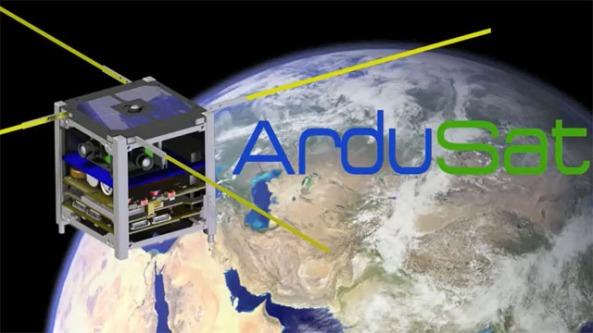 ArduSat Arduino CubeSat Technical Details | AMSAT-UK