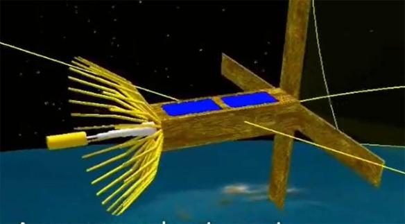 Aeneas CubeSat to Deploy 2 4 GHz Dish Antenna   AMSAT-UK