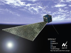 SPROUT Amateur Radio SSTV Satellite