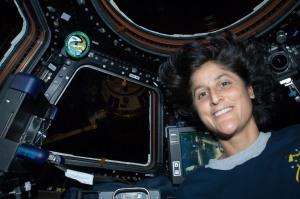 Sunita Williams KD5PLB on the ISS