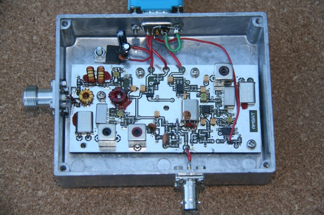 29.450 MHz Receiver - Image credit David Bowman G0MRF