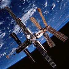 Mir Space Station - Image credit NASA