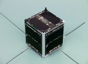 FUNcube-1 flight model - Image credit Wouter Weggelaar PA3WEG