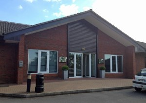 Holiday Inn Guildford side entrance