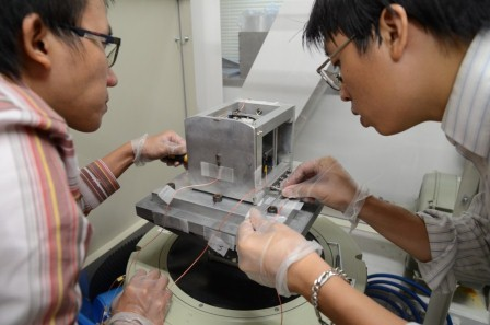 PicoDragon Vibration Testing - Image Credit VNSC
