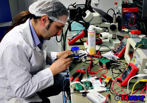 Preparing for TAMSAT linear transponder tests