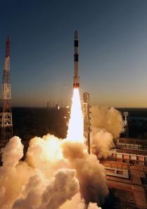 STRaND-1 PSLV-C20 Launch - Image credit ISRO