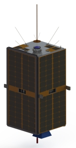 The ESEO spacecraft Copyright ALMASpace - ESA