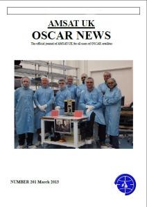 OSCAR News 201 Spring 2013