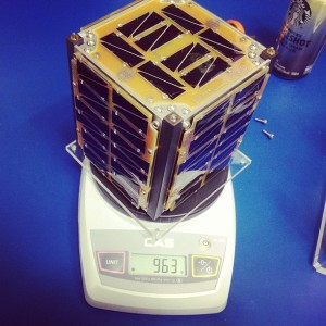 OSSI-1 weighs 963 grams