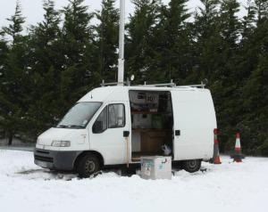 Camb-Hams Amateur Radio Van