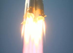 Soyuz-2-1a Lift-off - Image credit SpaceShuttleAlmanac