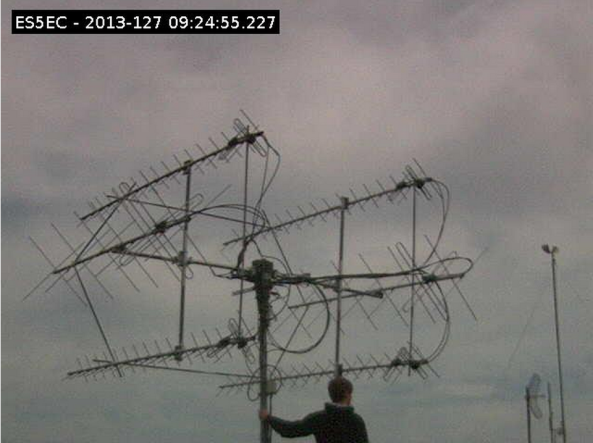 ESTCube Ground Station Antennas