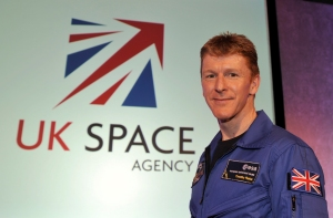 UK astronaut Major Tim Peake KG5BVI