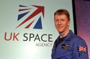 UK astronaut Major Tim Peake KG5BVI