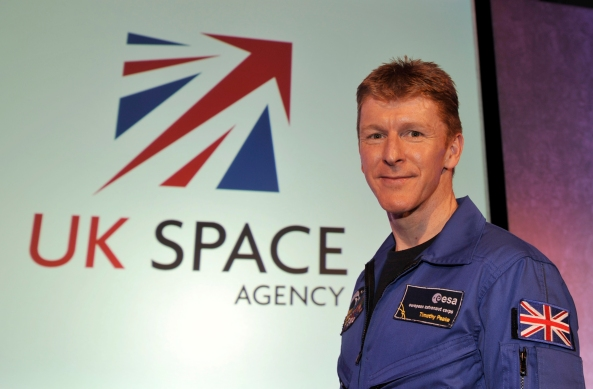 UK astronaut Major Tim Peake