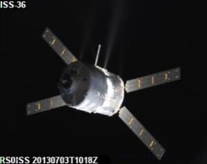 ISS SSTV picture of ATV-4 received by Dmitry Pashkov UB4UAD