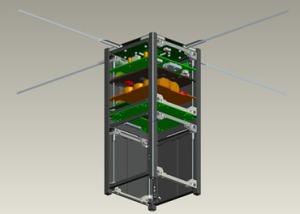 Typical QB50 CubeSat