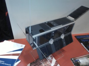 UKube-1 on display at UK Space Conference in Glasgow