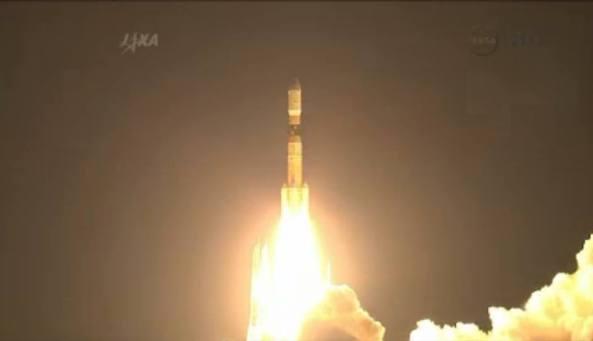 HTV-4 launch - Image credit JAXA