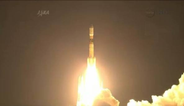 HTV-4 launch - Image credit JAXA