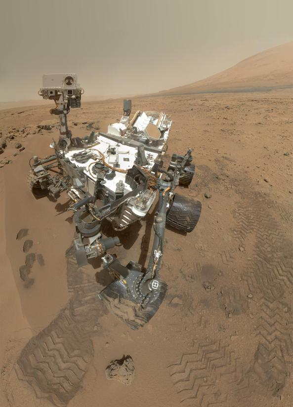 Mars Rover Curiosity - Image credit NASA