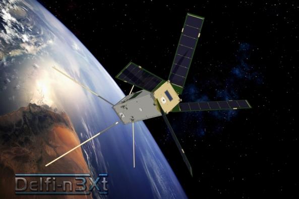 Delfi-n3Xt Satellite