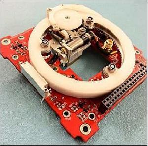 ZACUBE-1 TshepisoSat HF beacon antenna deployment unit - Image credit CPUT