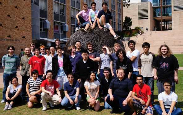 The BLUEsat Team - Image credit UNSW