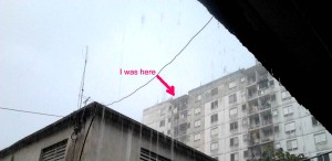 Hector Martinez CO6CBF operated from the roof of an apartment block