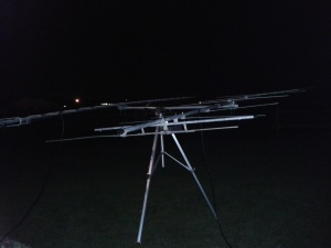 Peter Atkins G4DOL operated portable from a high location