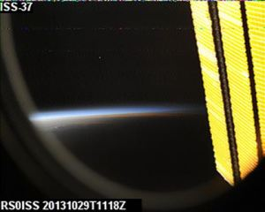 RS0ISS SSTV 20131029-1118Z received by Dmitry Pashkov UB4UAD