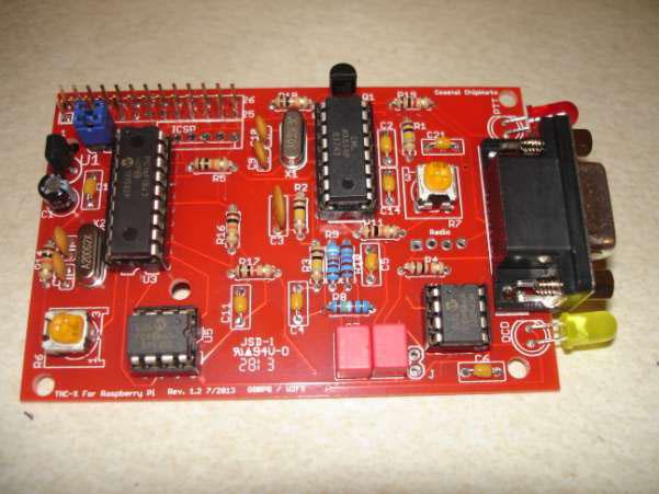 TNC-Pi Raspberry Pi Packet Radio Board | AMSAT-UK