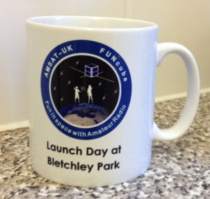 FUNcube-1 Launch Day Mug