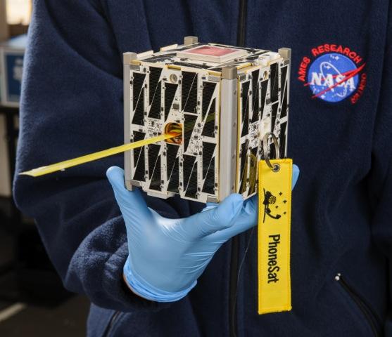 PhoneSat 2.4 - Credit NASA Ames