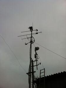 23cm_WebSDR_Antenna_up_mast