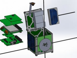 Diagram showing PUCP-SAT-1 and POCKET-PUCP - Credit Pontificia Universidad Católica del Perú