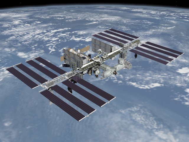 International Space Station - Image Credit NASA