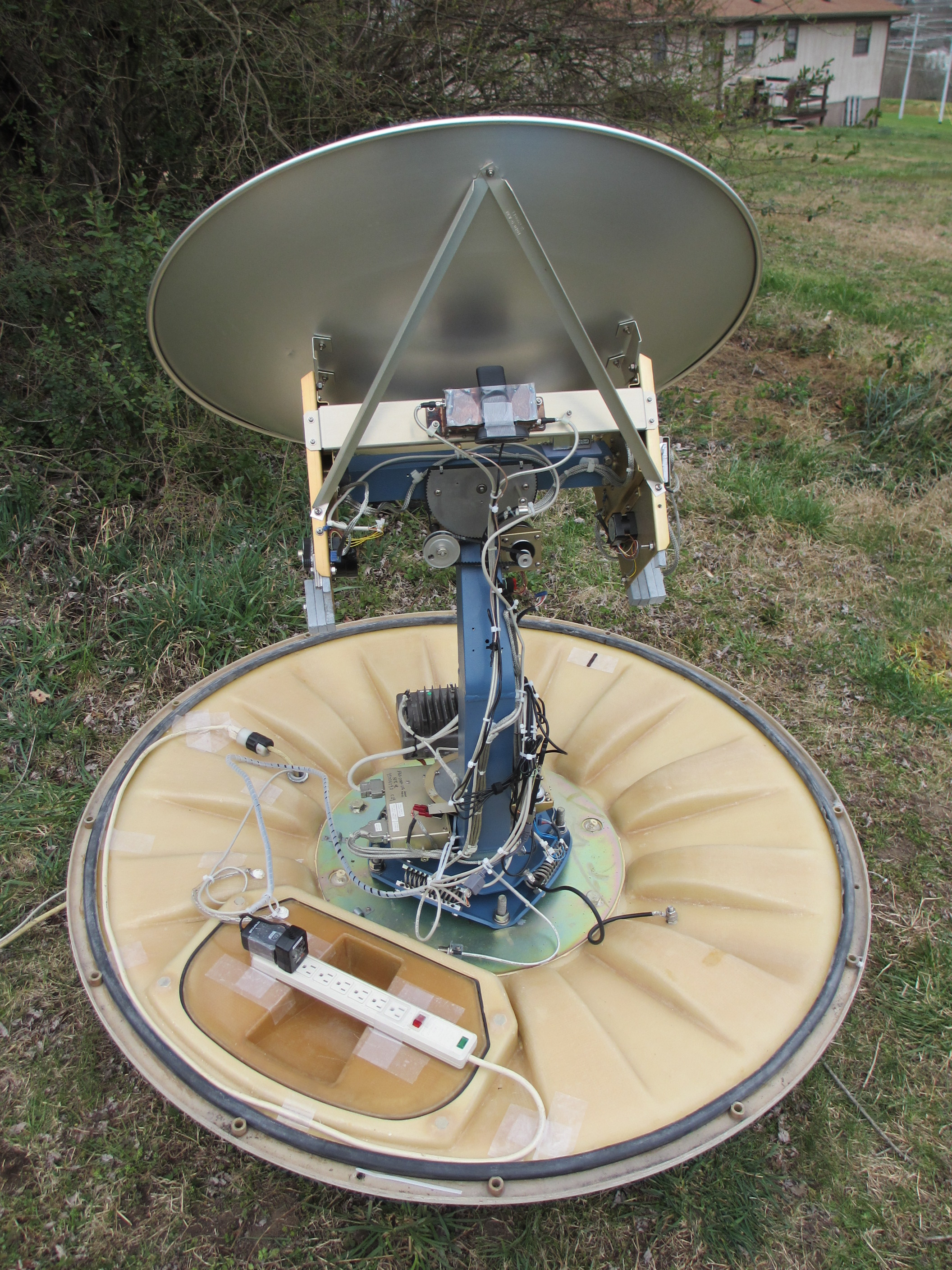 Hillbilly Tracking For Low Earth Orbit Satellites Amsat Uk