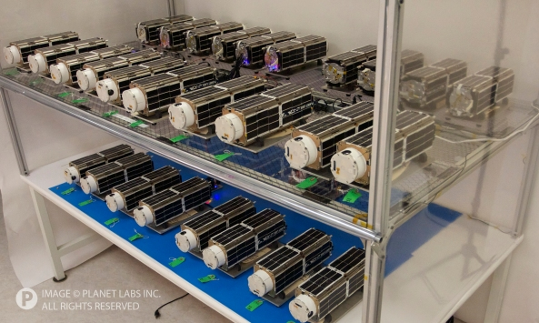 Planet Labs CubeSat Constellation