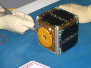 CubeSat PUCP-SAT-1 - Credit Pontificia Universidad Católica del Perú