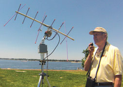 WRAPS Portable Satellite Antenna Rotator System - Copyright ARRL