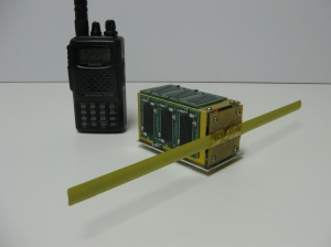 Yaesu handheld and $50SAT 1.5U PocketQube